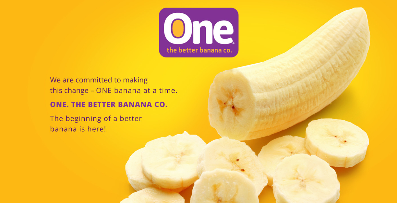 4618a457b7070 ONE. The better banana company.